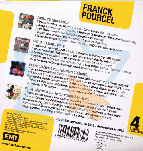 4 Classic Albums by Franck Pourcel