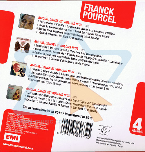 4 Original Albums by Franck Pourcel