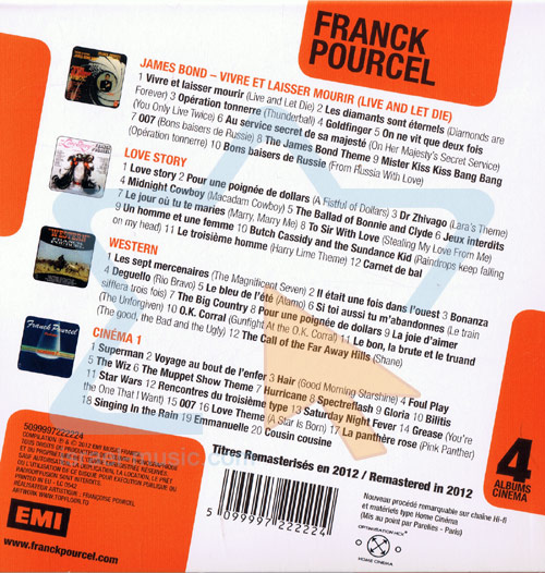 4 Original Albums by Franck Pourcel