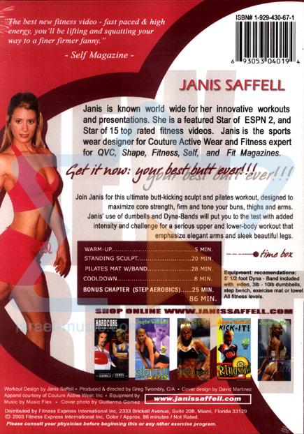 Brand New Butt Plus Pilates by Janis Saffell