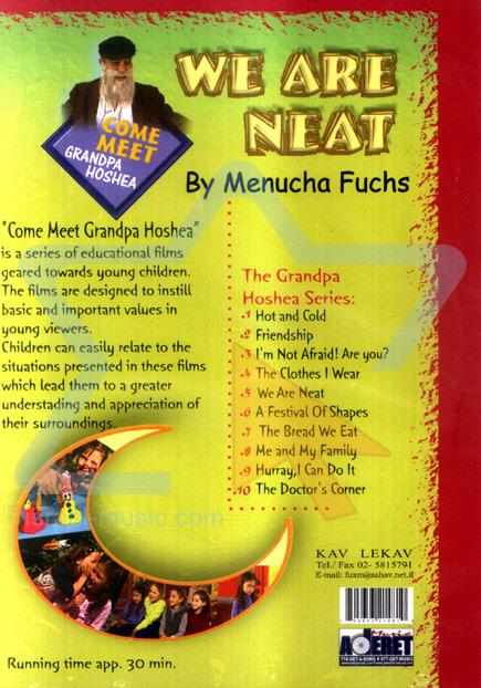 We Are Neat - English Version by Menucha Fuchs