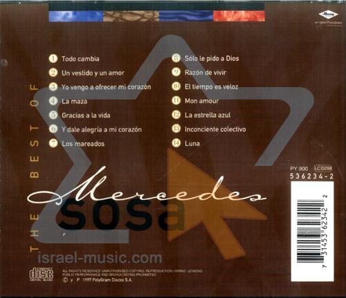 The Best of Mercedes Sosa by Mercedes Sosa