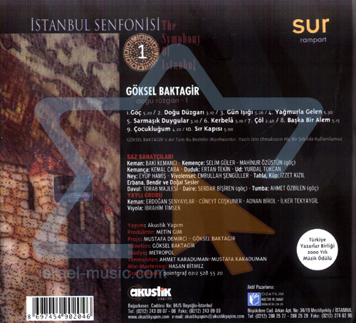 The Symphony of Istanbul - Rampart by Goksel Baktagir