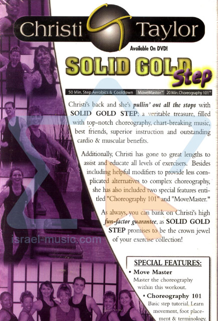 Solid Gold Step by Christi Taylor