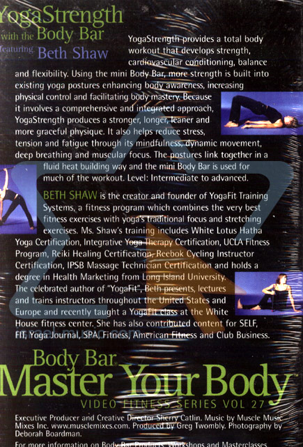 Master Your Body - Yoga Strength with the Body Bar Par Beth Shaw