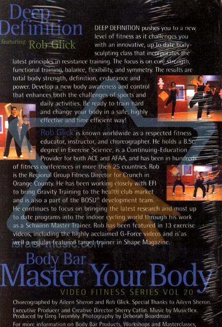 Master Your Body - Deep Definition Par Rob Glick
