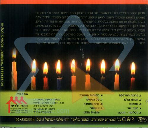 Halleluka on Hanukkah by Naomi Bulvin