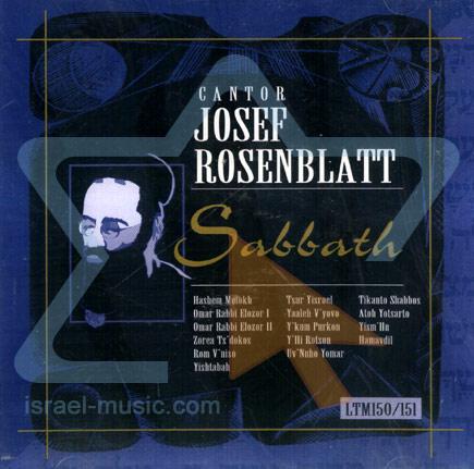 Sabbath by Cantor Yossele Rosenblatt