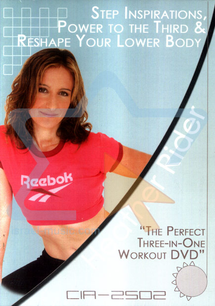 The Perfect Three-In-One Workout DVD by Heather Rider