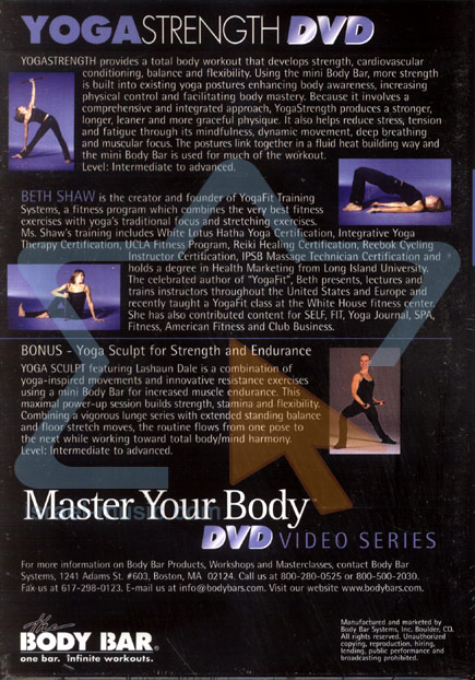 Master Your Body - Yoga Strength by Beth Shaw