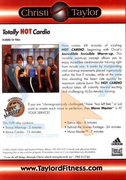 Totally Hot Cardio by Christi Taylor