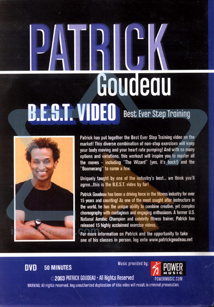 B.E.S.T. Video - Best Ever Step Training by Patrick Goudeau