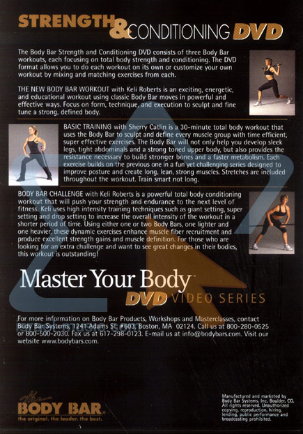 Master Your Body - Strength and Conditioning Par Various