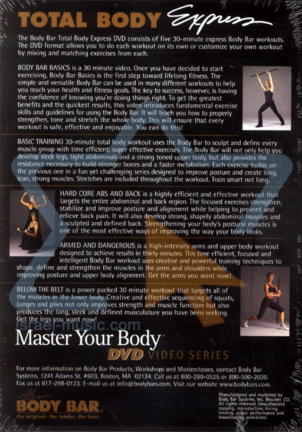 Master Your Body - Total Body Experience by Various