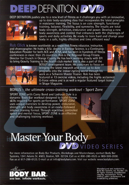 Master Your Body - Deep Definition by Rob Glick