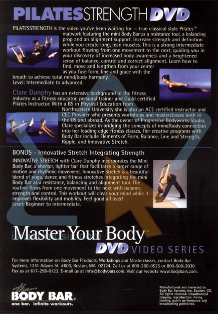 Master Your Body - Pilates Strength by Clare Dunphy