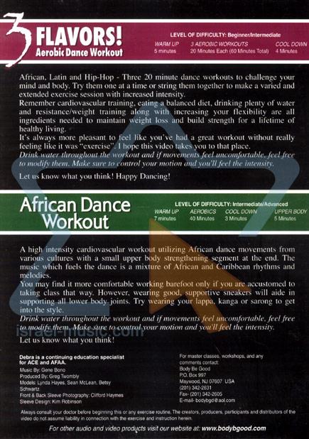 Aerobic Dance Workout Par Debra Bono