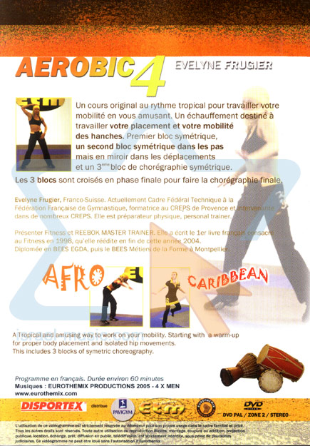 Afro Caribbean Workout by Evelyne Frugier