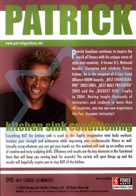 Kitchen Sink Conditioning Par Patrick Goudeau