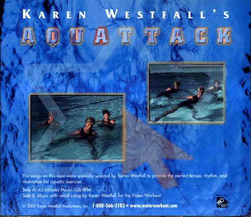 Aqua Attack by Karen Westfall