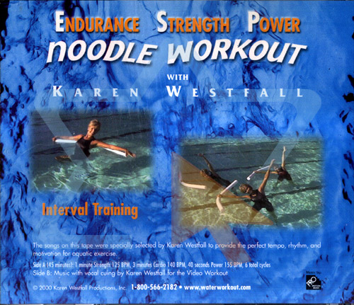 Noodle Workout by Karen Westfall