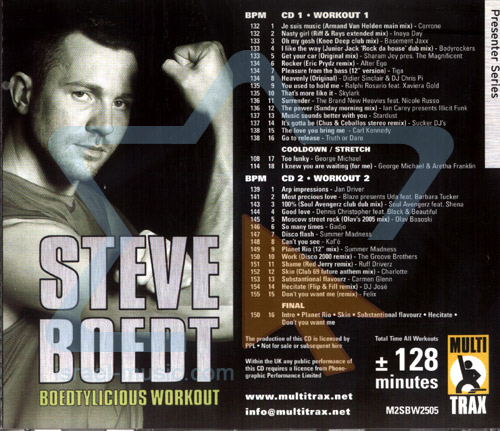 Boedtylicious Workout 01 by Steve Boedt