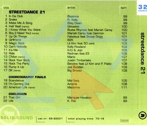 Vol. 21 by Street Dance