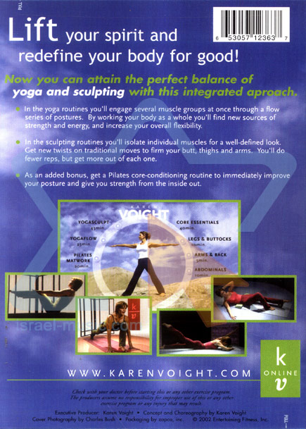 Yoga and Sculpting by Karen Voight