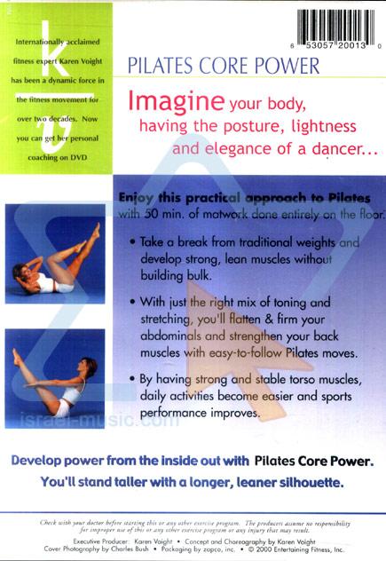 Pilates Core Power Par Karen Voight