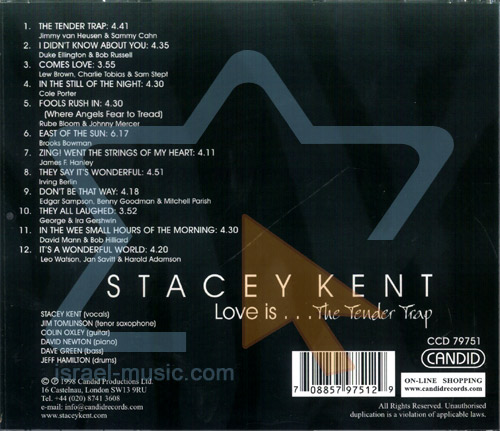Love Is...The Tender trap by Stacey Kent