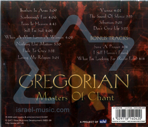 Master of Chant Chapter 1 by Gregorian
