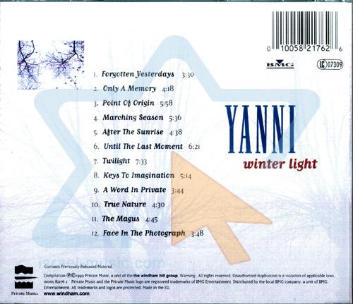 Winter Light Par Yanni
