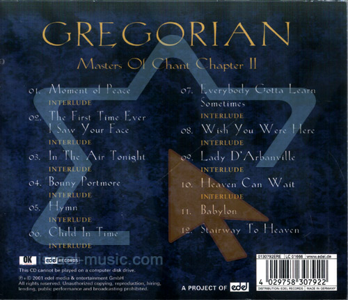 Master of Chant Chapter 2 by Gregorian