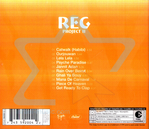 The R.E.G. Project - Vol. 2 Par The R.E.G. Project