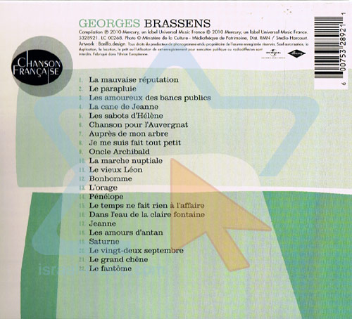 Chanson Française by Georges Brassens