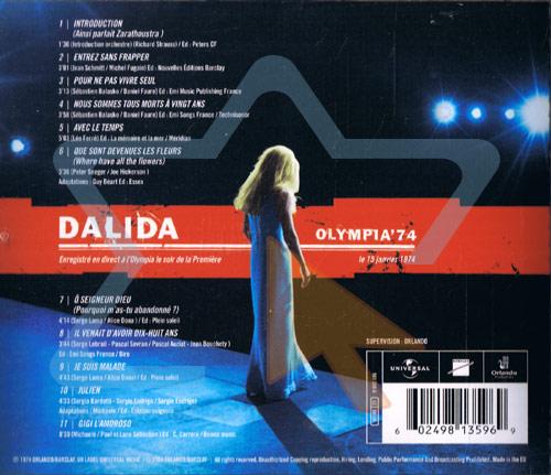 Olympia '74 Par Dalida