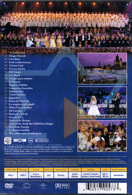 Live in Maastricht II by André Rieu