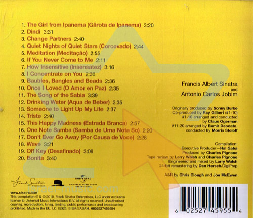 The Complete Reprise Recordings by Frank Sinatra