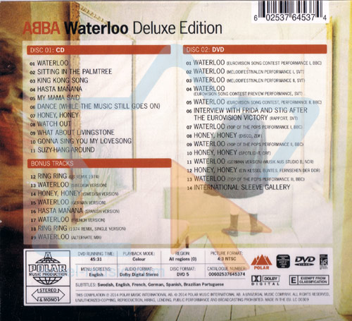 Waterloo - Deluxe Edition Par Abba