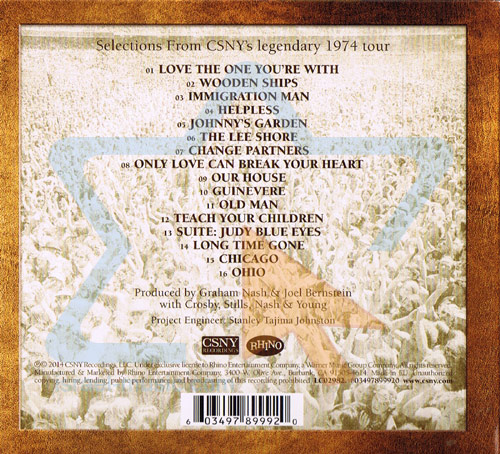 CSBY 1974 by Crosby, Stills, Nash & Young