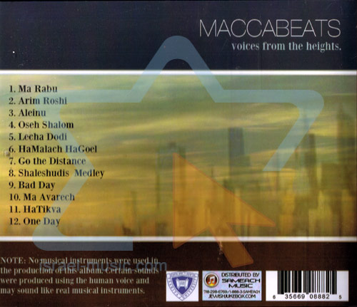 Voices From the Heights Par Maccabeats
