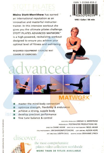 Stott Pilates - Advanced Matwork Par Moira Merrithew