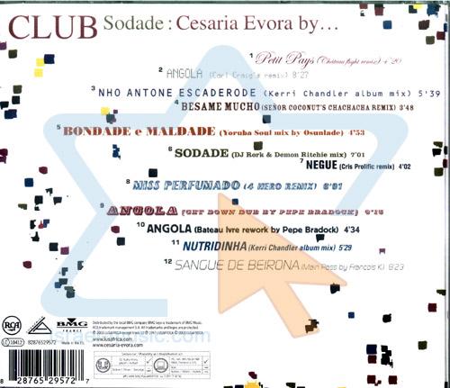 Club Sodade by Cesaria Evora