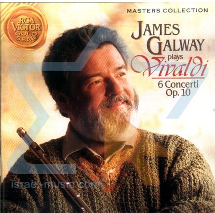 ויולדי - 6 קונצרטים אופוס 10 - ג'יימס גלוואי