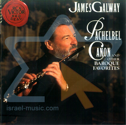 Pachelbel Canon and Others Baroque Favorites के द्वारा James Galway