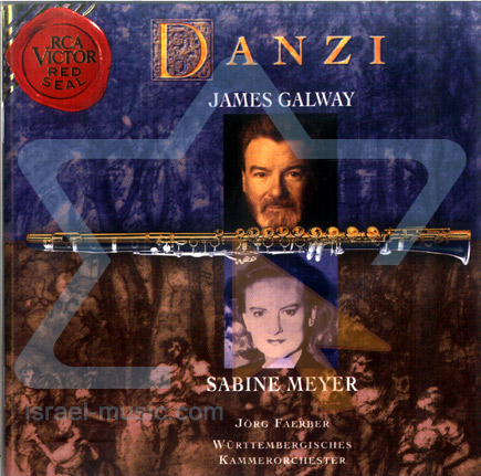 Danzi - Concerto for Flute and Clarinet by James Galway