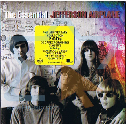 The Essential by Jefferson Airplane