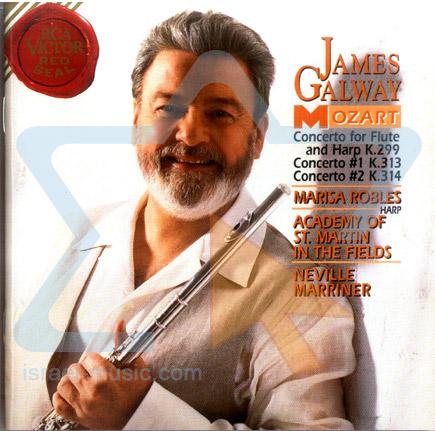 Mozart - Concertos के द्वारा James Galway