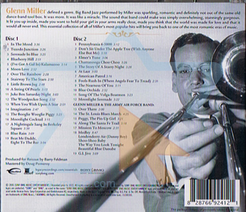 The Essential by Glenn Miller