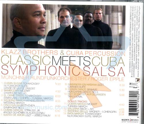 Classic Meets Cuba - Symphonic Salsa Par Klazz Brothers & Cuba Percussion